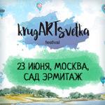 Баннерная рекламная кампания для фестиваля КругАРТсветка
