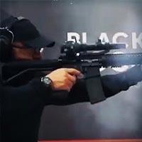 Рекламный ролик для стрелкового клуба Black Rock