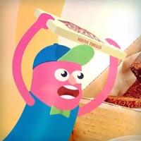 Создание вирусного рекламного видеоролика для компании Хоум Пицца