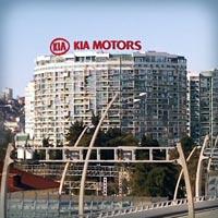 Визуализация рекламной крышной установки KIA MOTORS