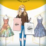 Разработка наружных баннеров магазина одежды