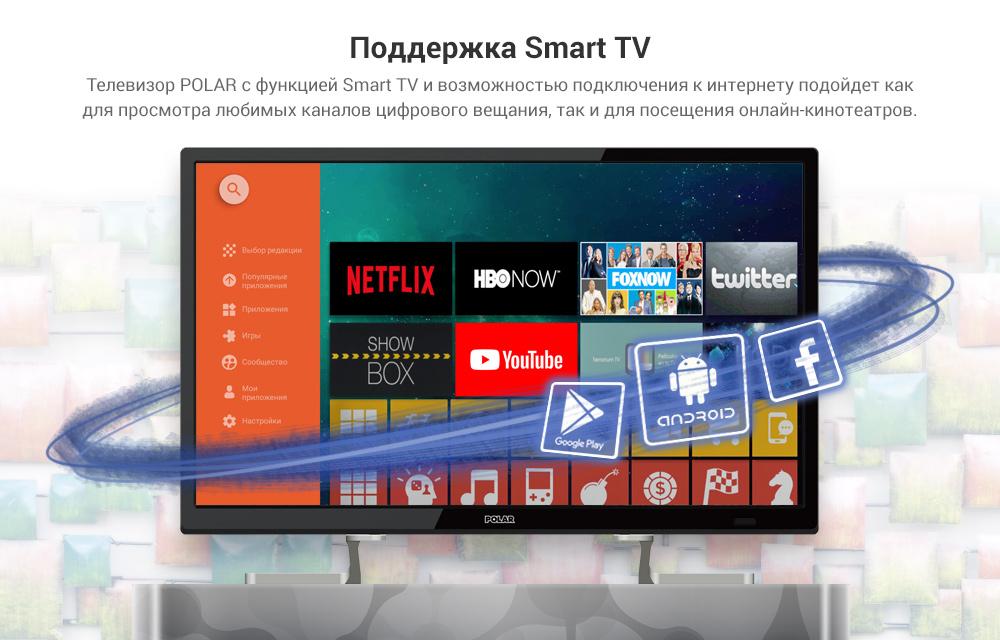 Баннерная реклама телевизоров Polar от студии БанДизайн