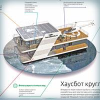 Создание PDF презентации для Хаусботов – Домов на воде