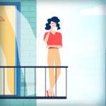 Анимационный видеоролик для сайта команды Lighted